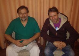 Aleksandar Popovic i Dragan Micanovic